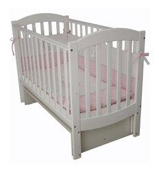 Дитяче ліжечко Верес ЛД10 з шухлядою біле