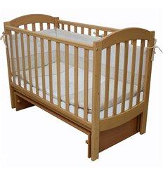 Дитяче ліжечко Верес ЛД10 з шухлядою бук