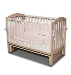 Дитяче ліжечко Верес ЛД10 з шухлядою капучіно