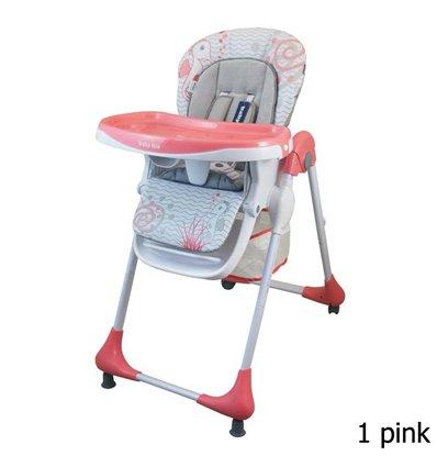 Стільчик для годування Alexis Baby Mix Junior YQ188 pink