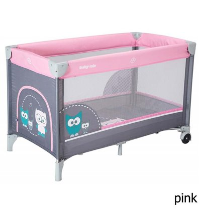 Манеж Alexis Baby Mix HR-8052 Sowa pink