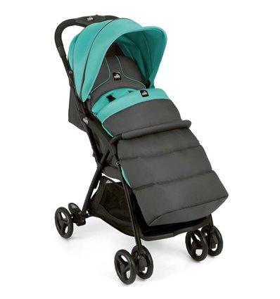 Дитяча прогулянкова коляска CAM Curvi 120 сіро-мятна