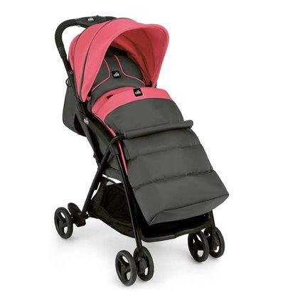 Дитяча прогулянкова коляска CAM Curvi 121 сіро-рожева