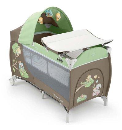 Манеж ліжечко CAM Daily Plus 225 зелений