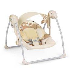 Гойдалка для малюків CAM Sonnolento 219 бежевий з ведмедиком