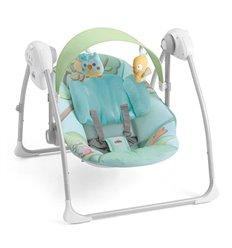 Гойдалка для малюків CAM Sonnolento 225 блакитний зі звірятами
