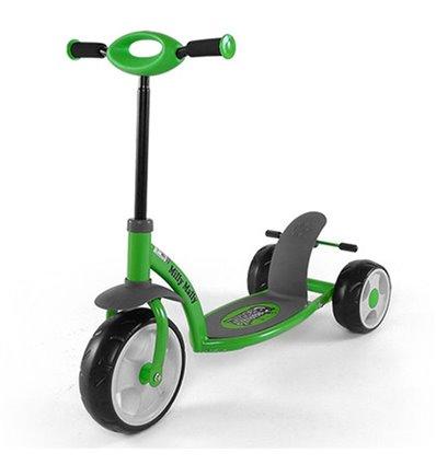 Самокат триколісний Milly Mally Sporty зелений