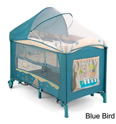 Манеж ліжечко Milly Mally Mirage Deluxe Blue Bird