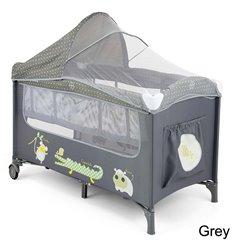 Манеж ліжечко Milly Mally Mirage Deluxe Grey