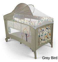 Манеж ліжечко Milly Mally Mirage Deluxe Grey Bird