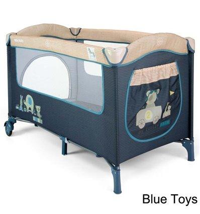Манеж ліжечко Milly Mally Mirage Blue Toys