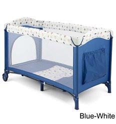 Манеж ліжечко Milly Mally Mirage Blue White