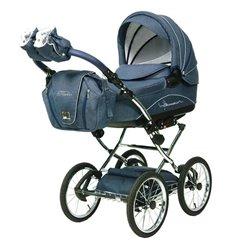 Дитяча коляска 2 в 1 Tako Acoustic синя