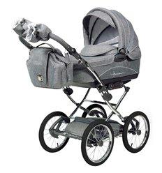 Дитяча коляска 2 в 1 Tako Acoustic сіра