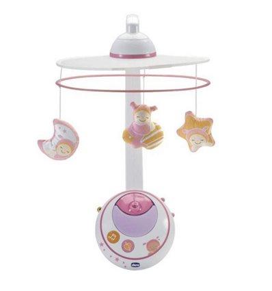 Мобіль на ліжечко Chicco Чарівні зірки рожевий