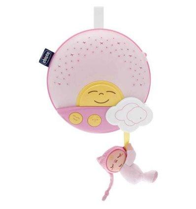 Мобіль-проектор на ліжечко Chicco Захід сонця розовий