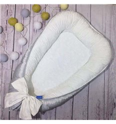 Кокон Маленька Соня Mon Cheri 75х100см сірий