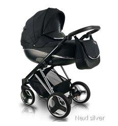 Дитяча коляска 2 в 1 Bexa Next Silver