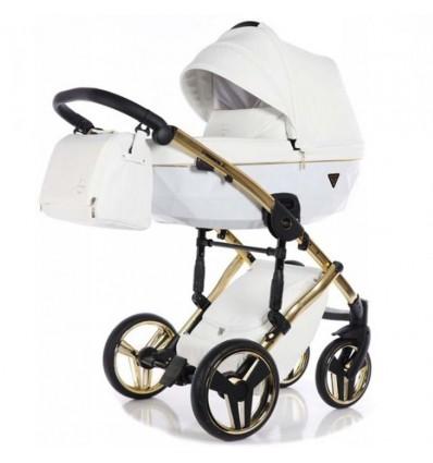 Дитяча коляска 2 в 1 Tako Junama Diamond Individual White золота рама