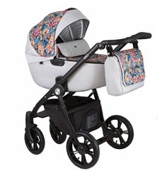 Дитяча коляска 2 в 1 Roan Esso Grey Folk
