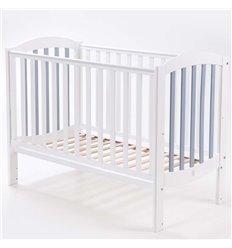 Дитяче ліжечко Верес Соня ЛД10 Економ біло-сіре