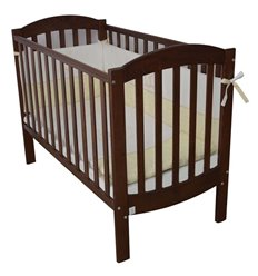 Дитяче ліжечко Верес Соня ЛД10 Економ горіх