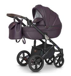Дитяча коляска 3 в 1 Verdi Mocca 01 фіолетова