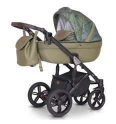 Дитяча коляска 3 в 1 Verdi Mocca 08 оливкова