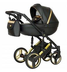 Дитяча коляска 2 в 1 Verdi Mirage Eco Premium Gold 2
