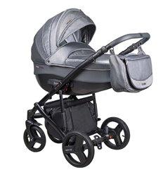 Дитяча коляска 2 в 1 Coletto Florino New FN-04 сіра