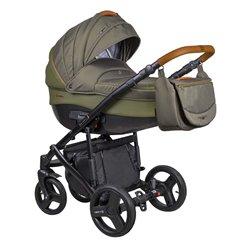 Дитяча коляска 2 в 1 Coletto Florino New FN-07 оливкова