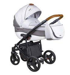 Дитяча коляска 2 в 1 Coletto Florino New FN-08 світло сіра