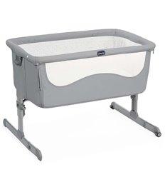 Ліжечко приставне Chicco Next2Me Pearl Grey
