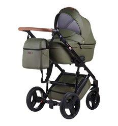 Дитяча коляска 2 в 1 Bair Leo GN-90 Зелена