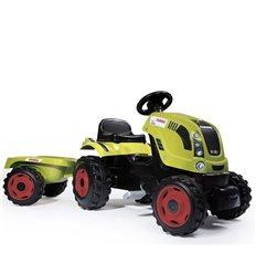 Трактор педальний з причіпом FARMER XL Smoby 710114