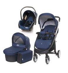 Дитяча коляска 3 в 1 4baby Atomic синя