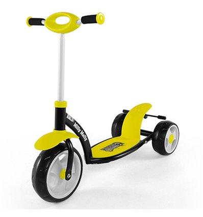 Самокат триколісний Milly Mally Sporty жовтий
