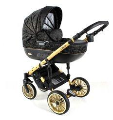 Дитяча коляска 3 в 1 Adbor Ottis Gold 01