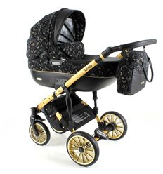 Дитяча коляска 3 в 1 Adbor Ottis Gold 02