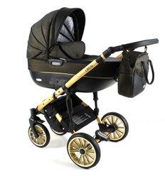 Дитяча коляска 3 в 1 Adbor Ottis Gold 04