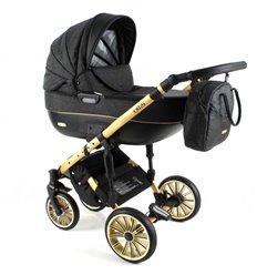 Дитяча коляска 3 в 1 Adbor Ottis Gold 05