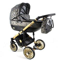 Дитяча коляска 3 в 1 Adbor Ottis Gold 06