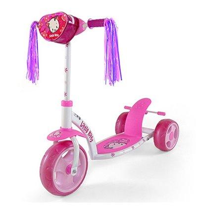 Самокат триколісний Milly Mally Sporty Kitty рожевий