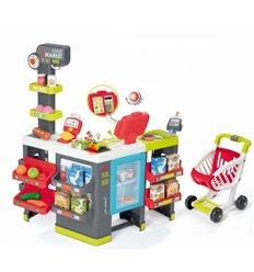 Дитячий супермаркет з возиком Smoby Maxi Market 350215