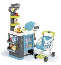 Дитячий супермаркет з возиком Smoby Market 350218