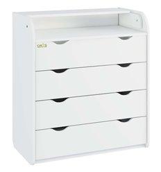 Комод-пеленатор Oris NEW на 4 шухляди 026 білий