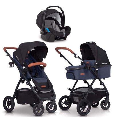 Дитяча коляска 3 в 1 EasyGo Optimo Air 2019 Denim