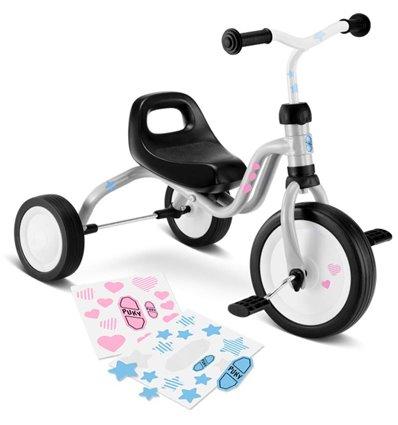 Велосипед триколісний Puky Fitsch металік