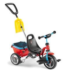Велосипед триколісний Puky CAT 1SP red/blue