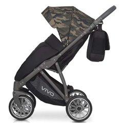 Дитяча прогулянкова коляска Expander Vivo Military 03
